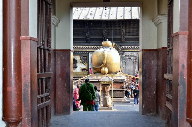 Interior of Pashupatinath Temple