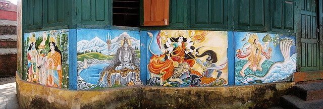 Paintings, Pashupatinath temple