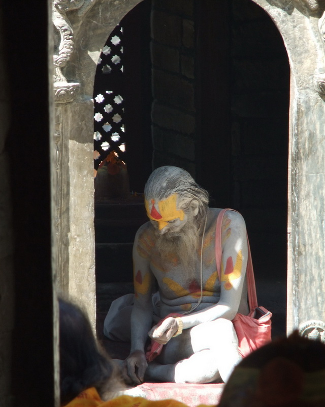 Holy Man Pashupatinath Temple
