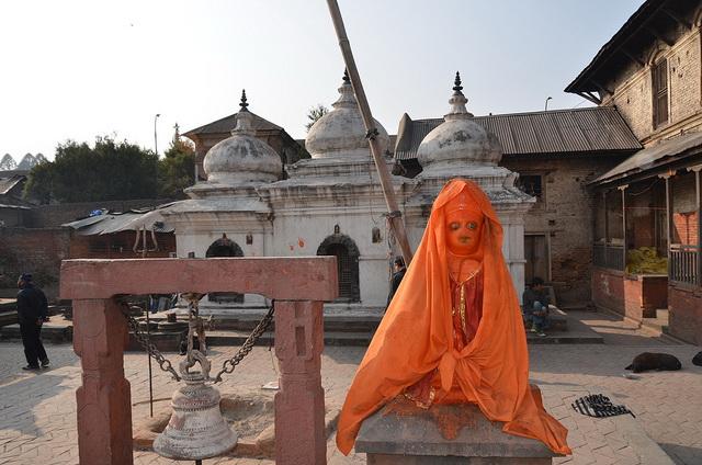 Statue of Hanuman, Pashupatinath Temple