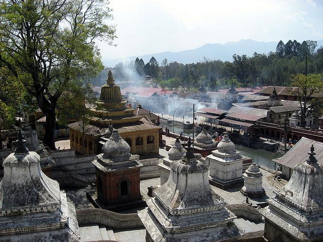 Kathmandu Pashupatinath complex