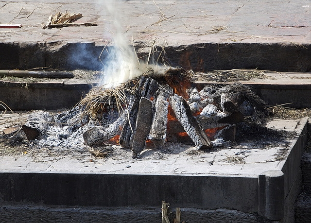 Funeral Pyre, Pashupatinath Temple